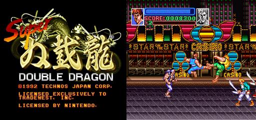Conheça Billy e Jimmy Lee, os protagonistas da série de ação Double Dragon Super-double-dragon-jogo-veio