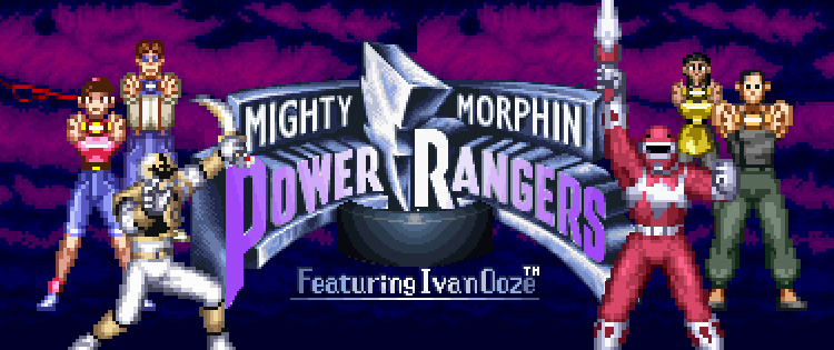 Resultado de imagem para power rangers the movie snes