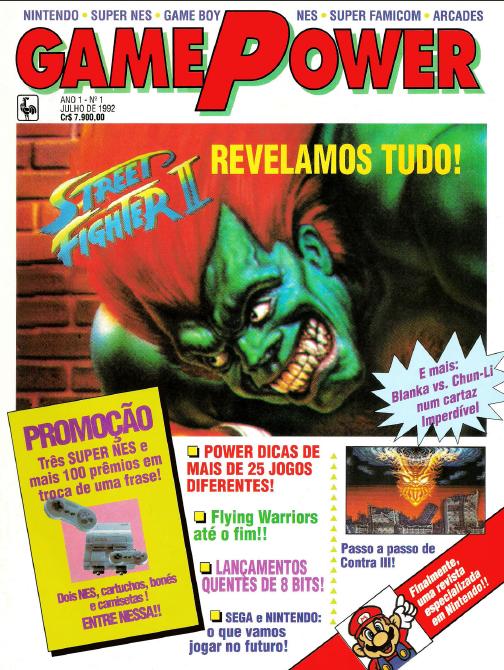 Surge a revista GamePower, publicação dedica à Nintendo GamePower-1