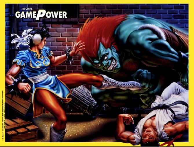 Surge a revista GamePower, publicação dedica à Nintendo P%C3%B4ster-Street-Fighter-II