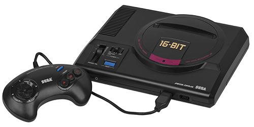 Top 10 consoles mais bonitos de todos os tempos, segundo o Asilo Retrogamer. Mega-drive-console-jogoveio
