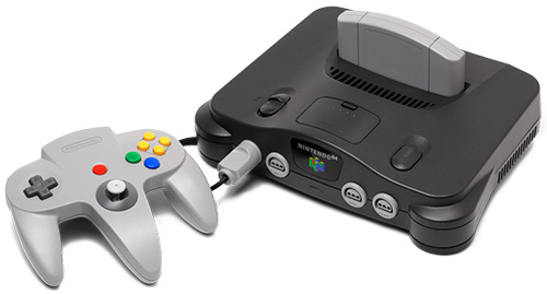 Top 10 consoles mais bonitos de todos os tempos, segundo o Asilo Retrogamer. Nintendo-64-jogoveio-console