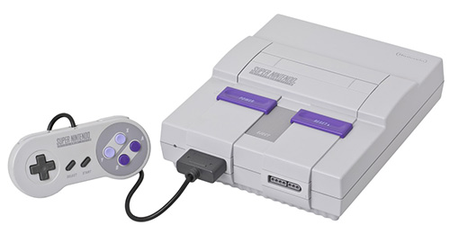 Top 10 consoles mais bonitos de todos os tempos, segundo o Asilo Retrogamer. Snes-jogoveio-console