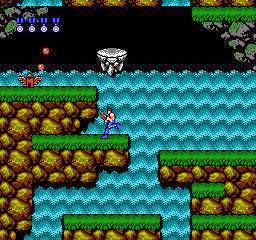 Contra - Ação cooperativa, alienígenas bizarros e heróis bombados no Nintendo 8 bits. Contra-fase3-jogoveio