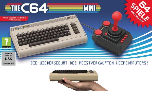 THEC64 Mini - Conheça a versão mini do Commodore 64