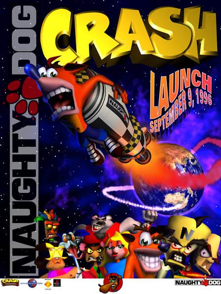 crash bandicoot psx