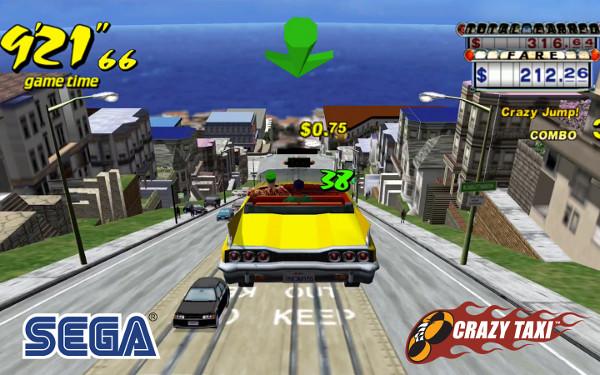 Crazy Taxi na Sega Forever