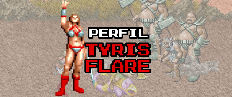 Tyris Flare - A guerreira amazona de Golden Axe Tyris-Golden-Axe-1