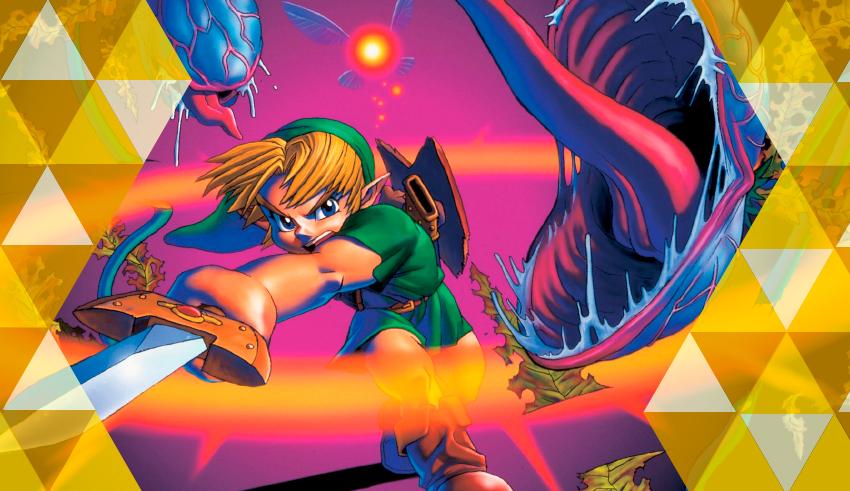 The Legend of Zelda: Ocarina of Time e seu legado para a série Capa_narrativaocarina