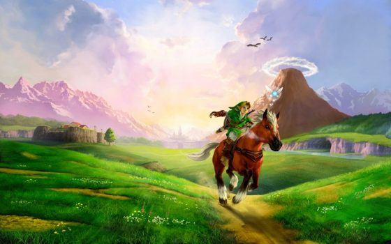 The Legend of Zelda: Ocarina of Time e seu legado para a série Hyrule-field-ocarina-of-time-jogoveio-560x350