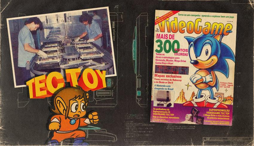 Tec Toy: Visita à fábrica em Manaus feita pela revista Videogame | Jogo Véio